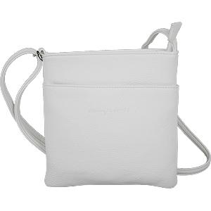 kleine weiße Damen Schultertasche Umhängetasche weiß