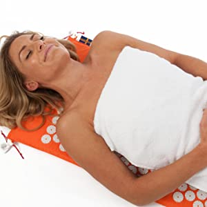 eco spikepillow cushion  magnetic magnet  magnetic-mat backpain