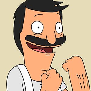 Animation Comedy Cartoon T-Shirt Restaurant Tina Gene Linda Louise Teddy Benjamin Jimmy Pesto Butts