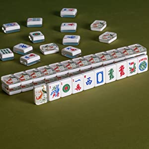 "American Mahjong Set of 166 Tiles - ""Koi"""