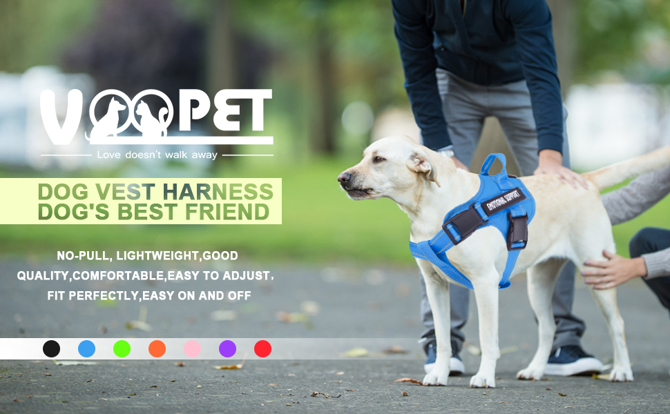 voopet dog vest harness - dog's best friend