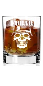 military whiskey glasses