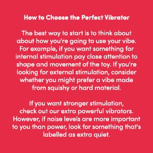 Choosing a Vibrator 1