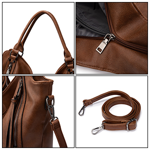 Concealed Carry Hobo Purse for Women