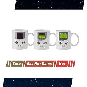Nintendo Heat Changing Mug Graphic