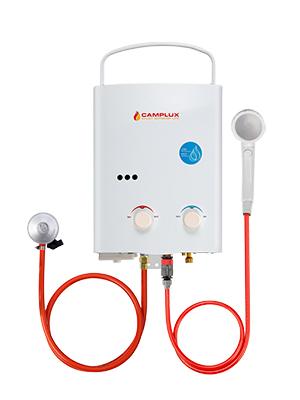 Camplux AY132 Calentador de Agua a Gas, LPG Instantáneo Propano Calentador de Agua pro Gas 5 Litros 10kW