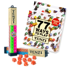 77 Ways TENZI children's party game add-on for TENZI dice game