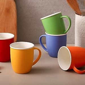 large porcelain coffee mugs