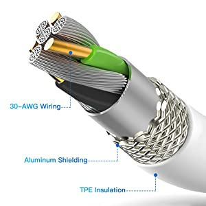 durable iPhone charging cord