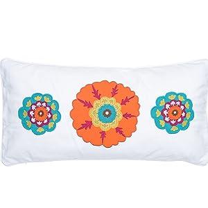 pillow suzani applique embroidery