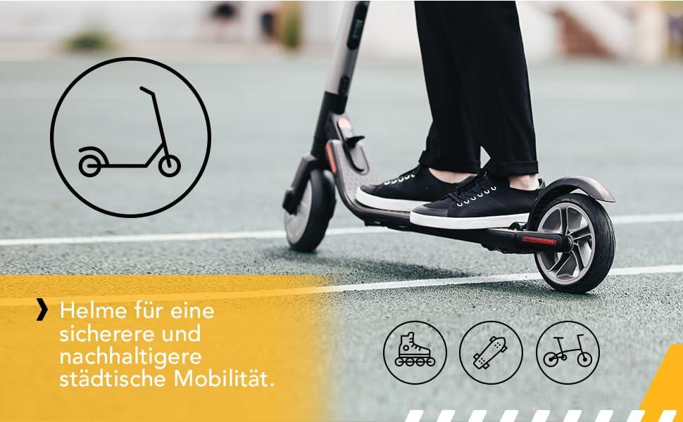 E-Scooter helm erwachsene BMX skates skateboard Elektrorollern männer Elektroroller-Helm