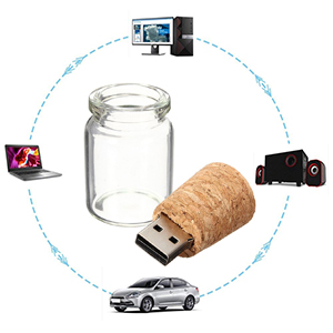 Drift bottle flash drive
