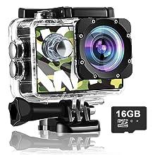 digital action camera 4k