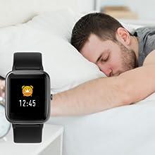 smartwatch orologio fitness uomo donna smart watch fitness tracker cardiofrequenzimetro da polso