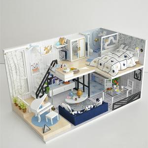 Wooden Dollhouse Miniature