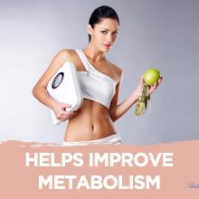 Helps improve metabolism