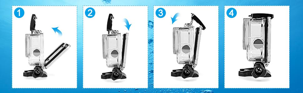 Deyard Kit de accesoriossolo para GoPro Hero 8 Black