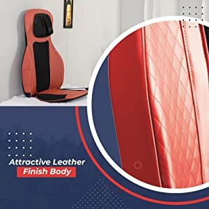 attractive leather finish