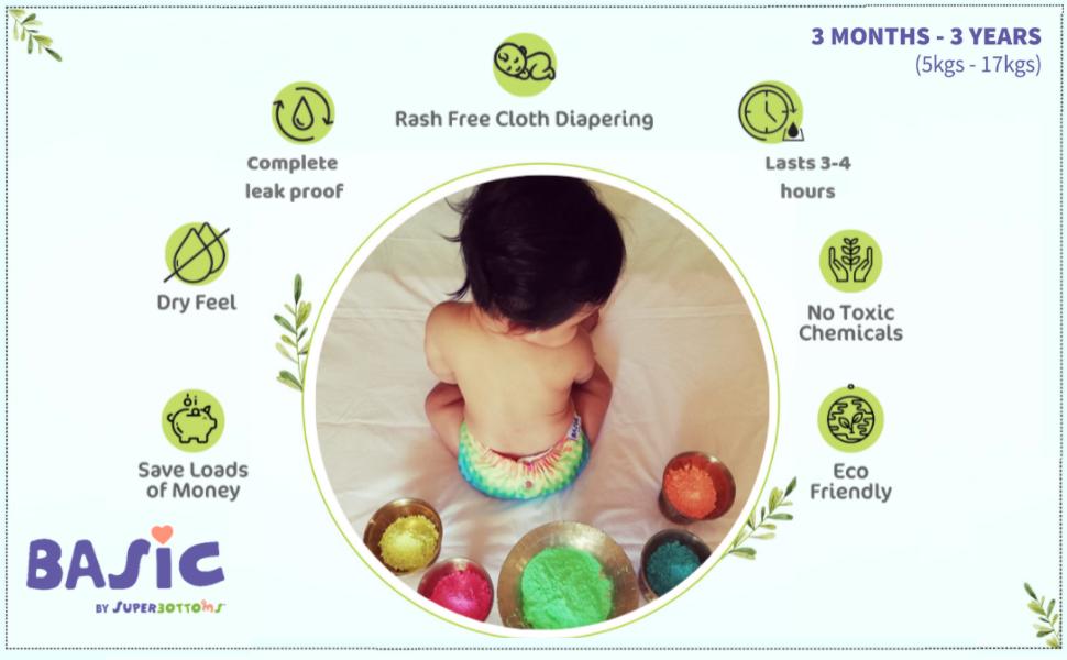 basic cloth diaper superbottoms