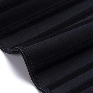 waist shaper corset steel boned
