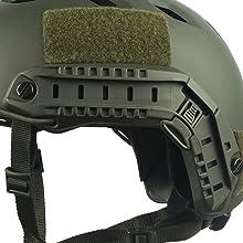 Fast Base Jump Helmet