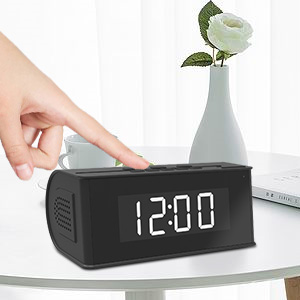 Alarm Clock Camera Hidden
