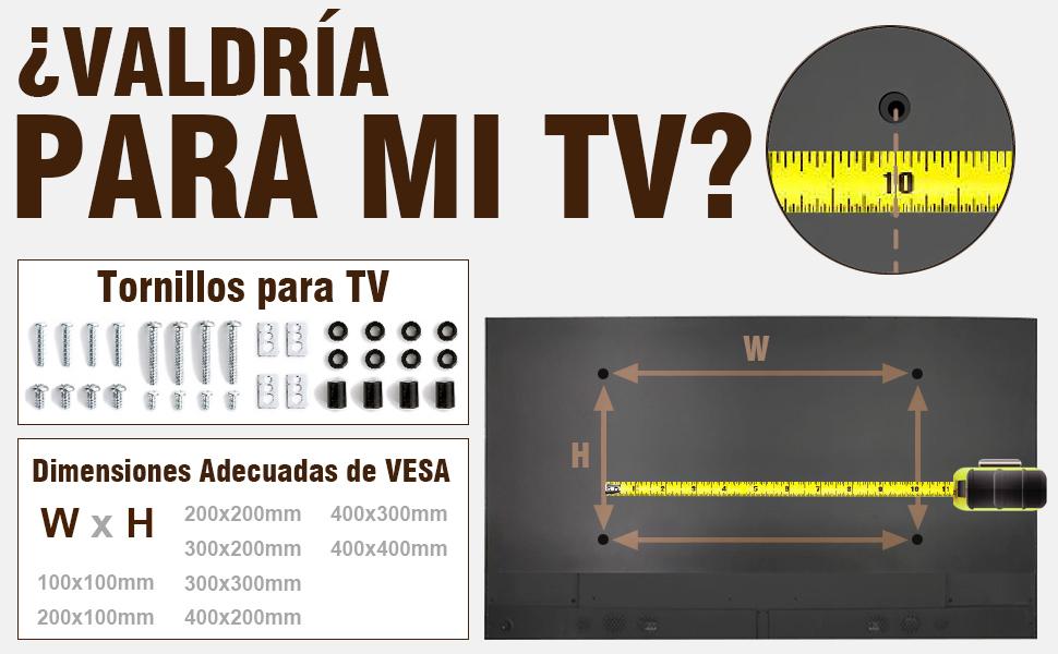 RFIVER Soporte TV Giratorio de Trípode Portátil de Suelo para Television 32 a 55 Pulgadas DS1001: Amazon.es: Electrónica