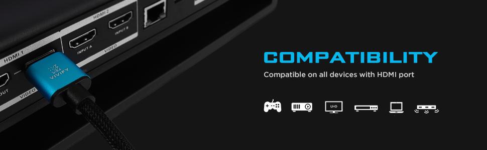 COPPER 8K ULTRA HD HDMI 2.1 XENOS W31 XBOX SERIES X PS5 HDCP 2.3 eARC DTS:X VIVIFY