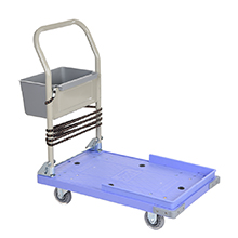Push Hand Truck Folding Platform Cart