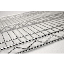 Use commercial wire shelving