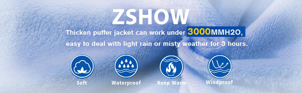 ZSHOW Boy's Puffer Jacket