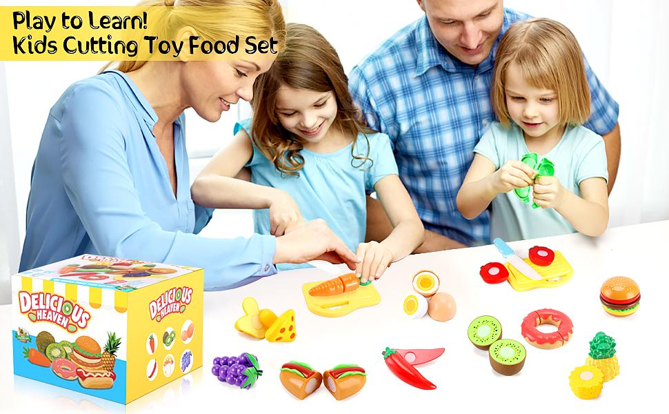 fake food,kids kitchen toys,toy foods for kids kitchen,pretend food for play kitchen,kitchen toys