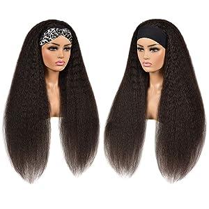 scarf wig