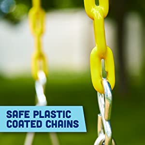 Safe Plastic Coated Chains