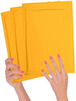 Peel and Seal 25 Pack White Kraft Padded envelopes 8.5 x 13 Cushion envelopes Bubble Mailers 8 1//2 x 13 Wholesale Price. Shipping mailing Heavy Duty Recyclable Kraft mailers in Bulk Packaging