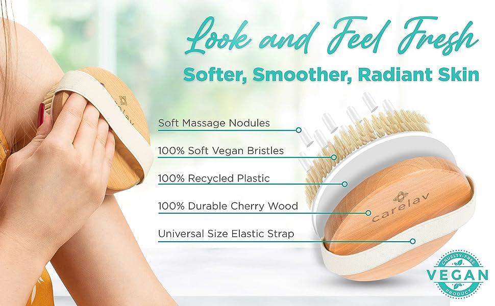 round brush with massager