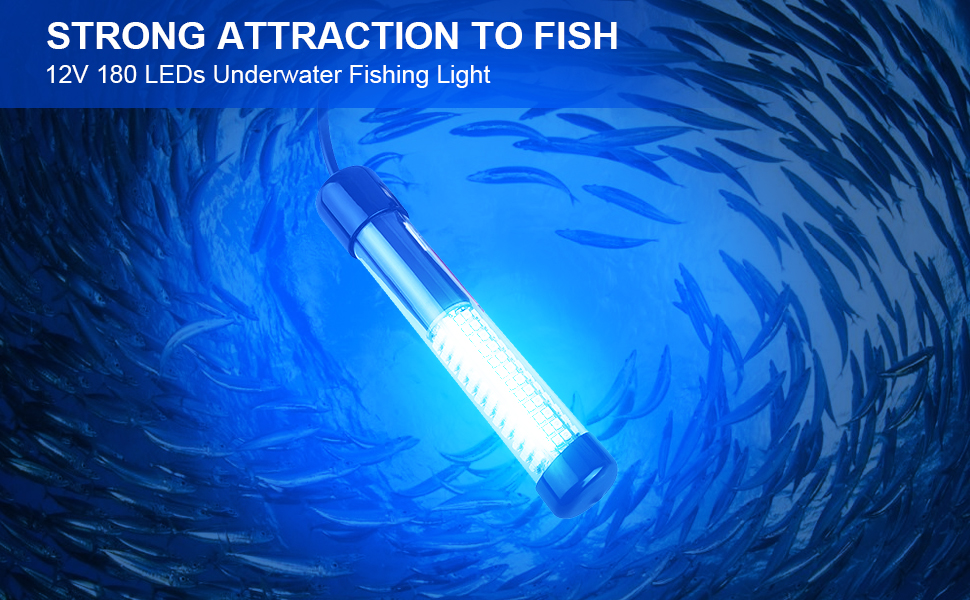 Fishing Lights led Underwater for Luring Bait & Fish