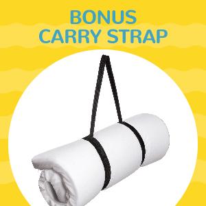 Bonus carry strap
