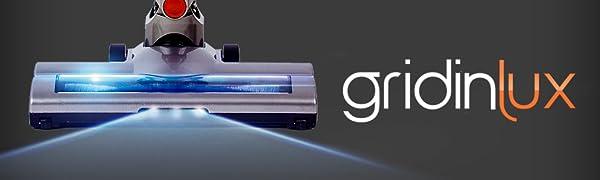 aspirador inalambrico, sin bolsa, con luz LED, súper potente