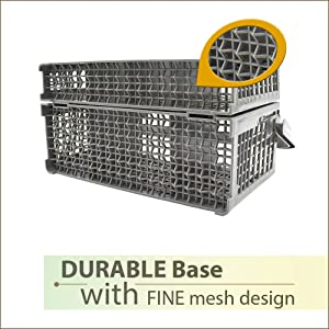 dishwasher basket for small items with durable base
