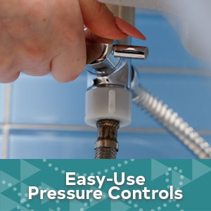 Full Pressure & Leakproof Handheld Bidet Toilet Sprayer Kit bathroom toilet sprayer