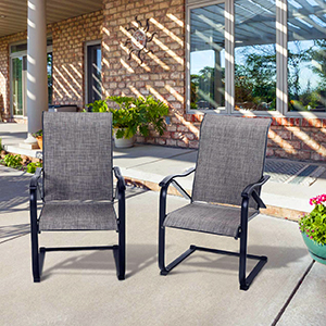 outdoor motion chair