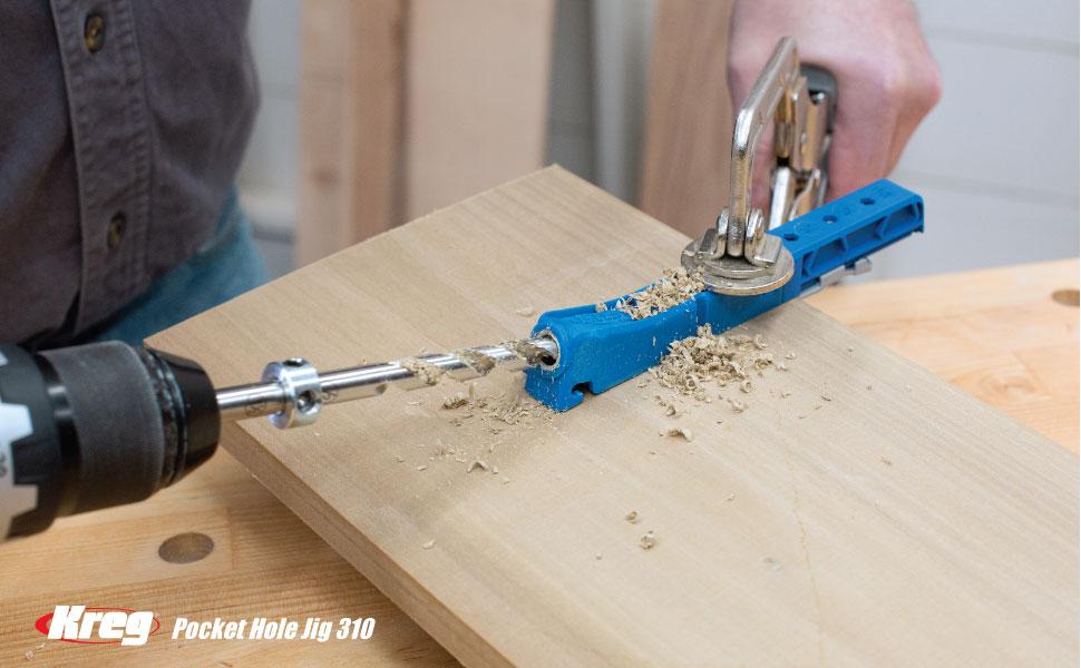 310 320 pocket hole drilling joining