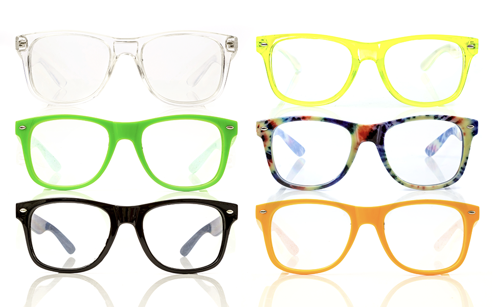 Spiral Diffraction Glasses