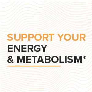 support your energy and metabolism