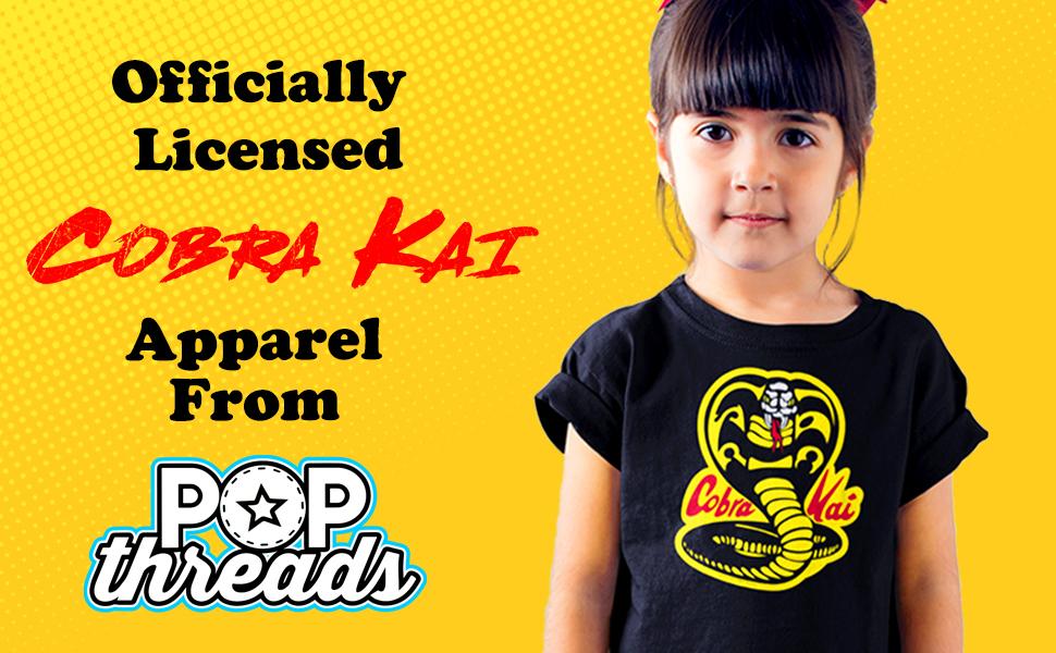 Cobra Kai Karate Kid Merchandise Retro No Mercy Youth Kids Girl Boy T-Shirt