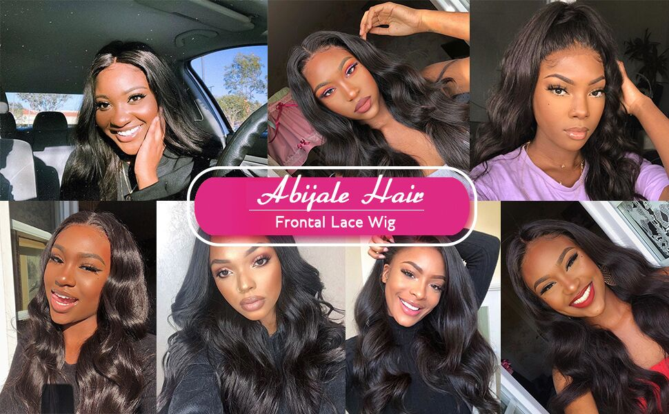 360 lace front wig human hair