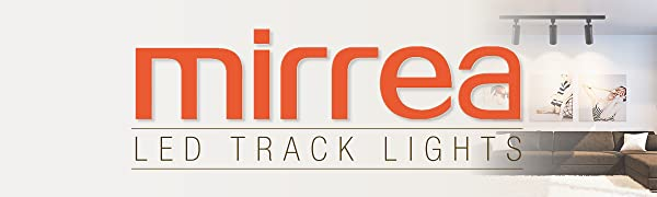 mirrea 6 Pack 15W Dimmable LED Track Lighting Heads Compatible with Single Circuit H Type Rail