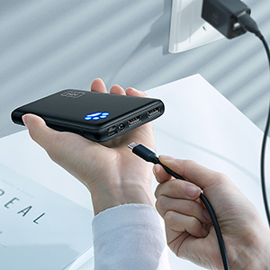 The thinnest 10000mAh portable charger on the market
