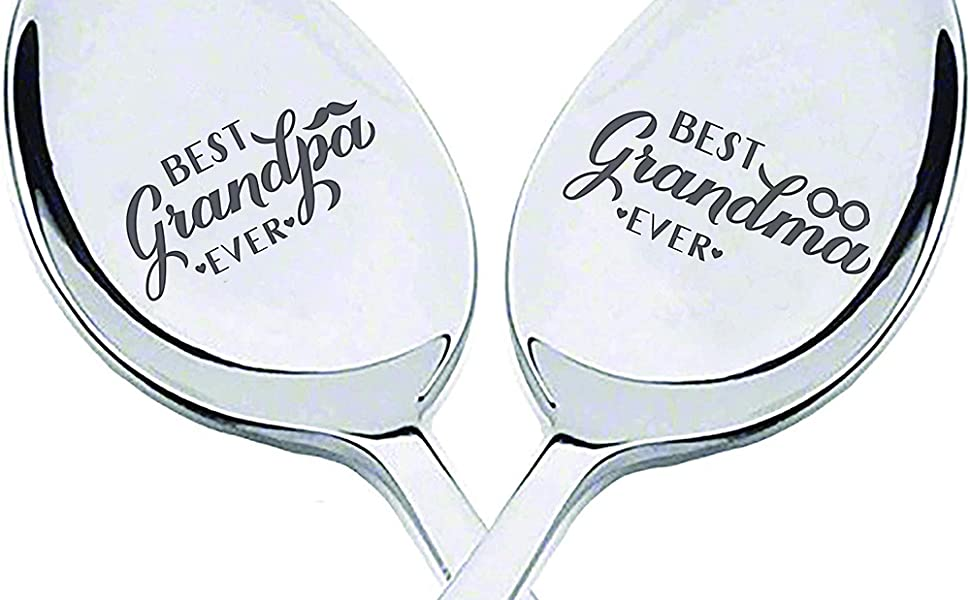 Nanas Coffee Spoon Best Nana Gifts for Mothers Day//Birthday//Christmas Funny Coffee Spoon Engraved for Coffee Lover Women Nana Gifts from Granddaughter Grandson